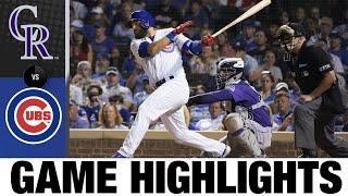 Rockies vs. Cubs Game Highlights (8/23/21) MLB Highlights