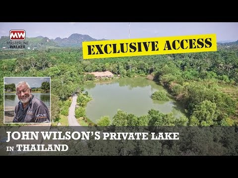 Exclusive Access To John Wilson's Private Fishing Lake In Thailand!