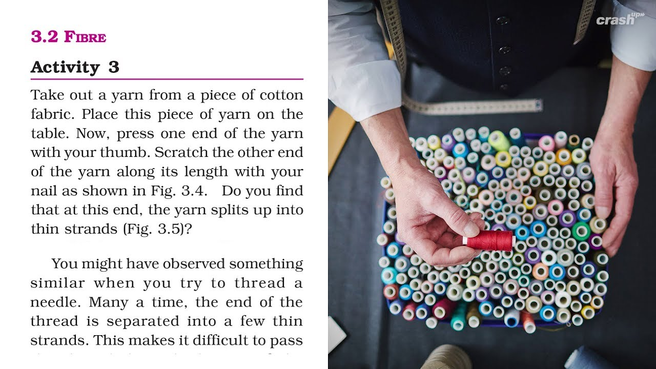 6th Science Ncert Chapter 3 2 Fiber Fabric Vs Cloth Explained
