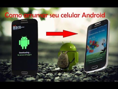 Como arrumar Android Travado, Brickado - Método Fácil e infalível