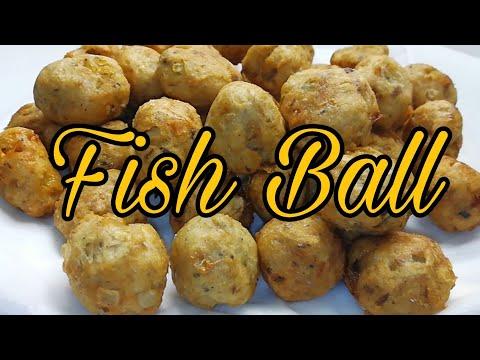 Filipino Street Foods Fish Ball   How To Make Fish Ball   MediCusina Lutong OFW