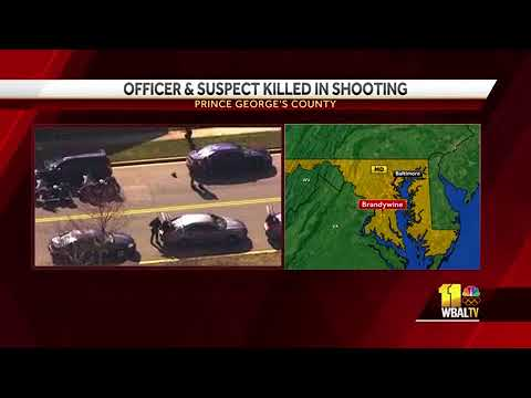 Prince George's County police officer killed in Brandywine shooting