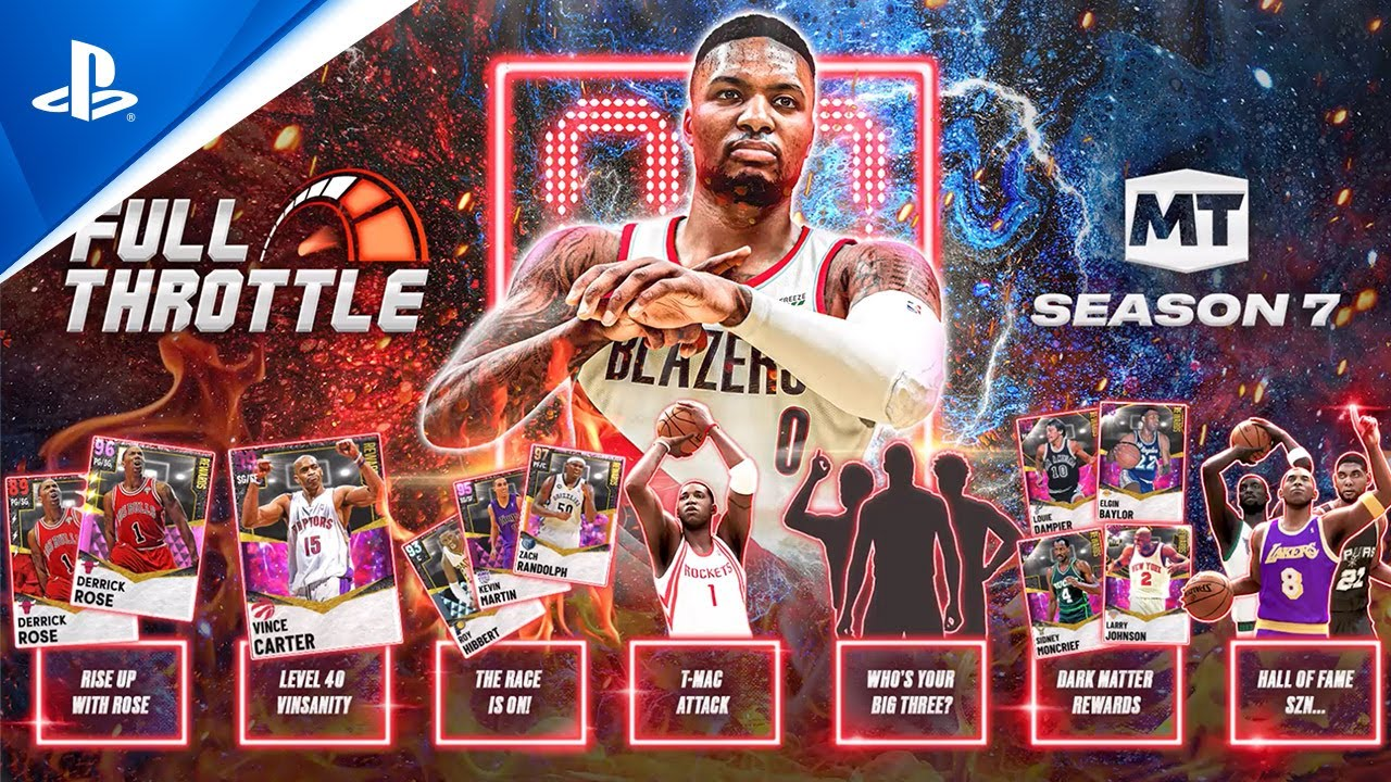 NBA 2K21 - MyTEAM Season 7: Full Throttle