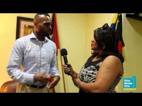 Celebrity fitness trainer Mark Jenkins in Antigua