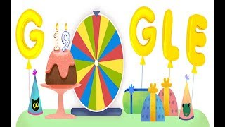Google Birthday Surprise Spinner. Here is how to play this Magical game.