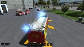 Airport Firefighter Simulator 2015 - Fire Alarm!