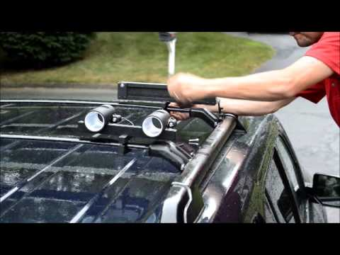 Locking Rod Holder Youtube