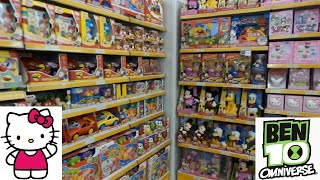 Toy Hunt in speelgoedwinkel in Italië Hello Kitty en Ben 10 Omniverse ~ Toy Hunt in Toy Store Italy