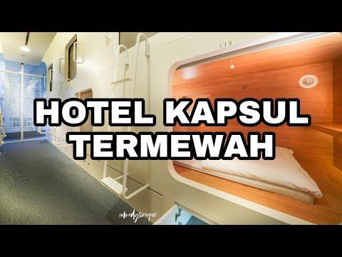 HOTEL KAPSUL MEWAH TAPI MURAH DI JAKARTA DIBAWAH 200RB | 360 Video Kolaborasi Dunia Imaji