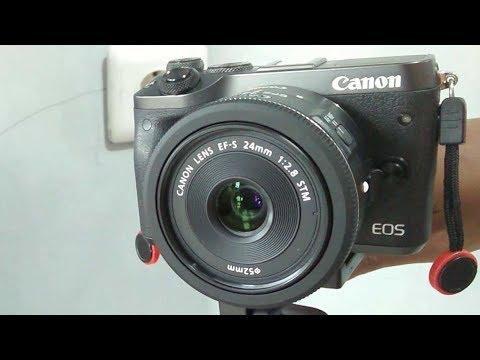 EOS M6 with EF-S 24mm f/2.8 STM AF & Video Test