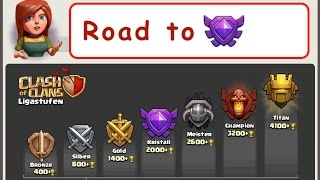 Clash of Clans Let's Play Folge #14 Road to Kristall #2 deutsch : german