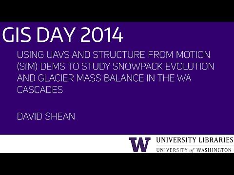 Using UAVs and SfM DEMs to Study Snowpack Evolution – UW GIS Day 2014
