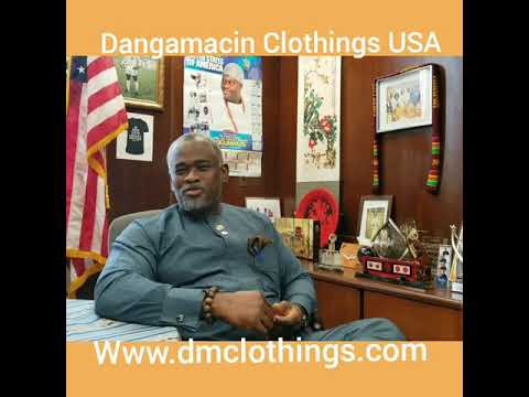 Deputy Mayor City of Newark endorsed The Panther Fashion show Presents by Dangamacin Clothings USA