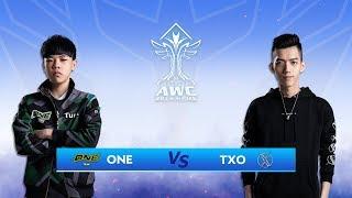TXO vs ONE - Vòng loai AWC 2019 - Garena Liên Quân Mobile