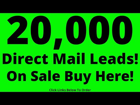 direct-mail-leads-20,000-on-sale-buy-now!