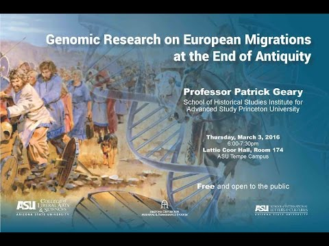 Genomic Research on European Migrations at the End of Antiquity