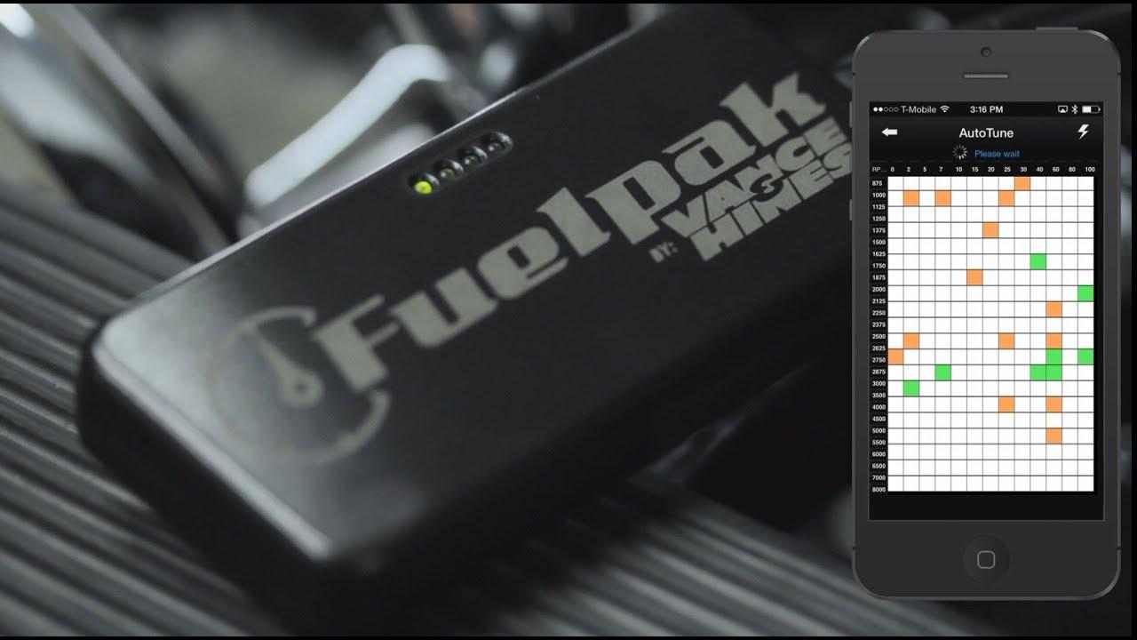 Vance & Hines Fuelpak FP3 Autotuning Explained - YouTube