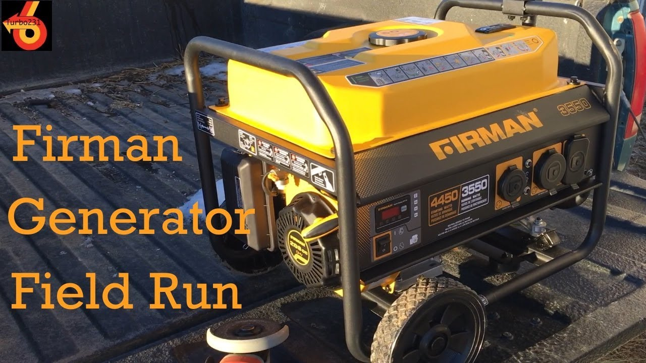 Turbo231 - 2: Doing some grinding with the Firman Generator