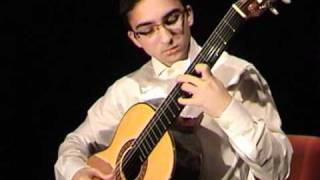J.S .Bach - Suite No.3 for guitar, BWV 995. Gavotte I-II played by Luis Alejandro García.