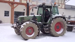 Fend 312 Farmer Cold Start -16°C