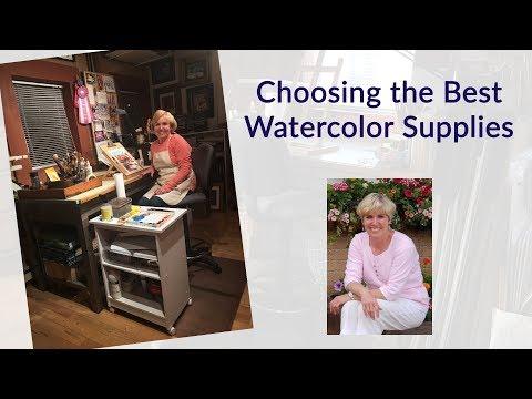 Choosing the Best Watercolor Supplies