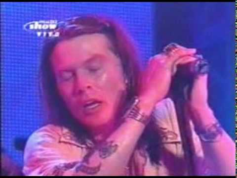 Guns N`roses - Patience Live at Rock in Rio III (2001)