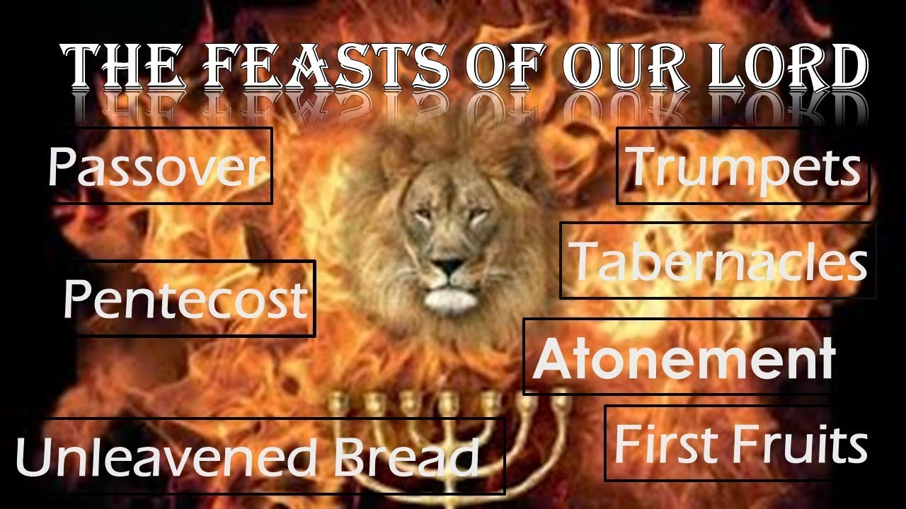 The Feasts of Our LORD - Will 2017 be the year they find fulfilment? - YouTube