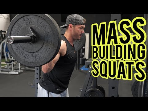 SQUATS Mass Building Workout for Legs with 4 Squat Variations