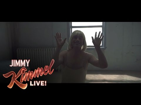 Jimmy Kimmel & Guillermo Learn Sia's 'Chandelier' Dance