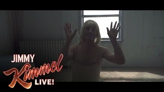 "Jimmy Kimmel & Guillermo Learn Sia's ""Chandelier"" Dance"