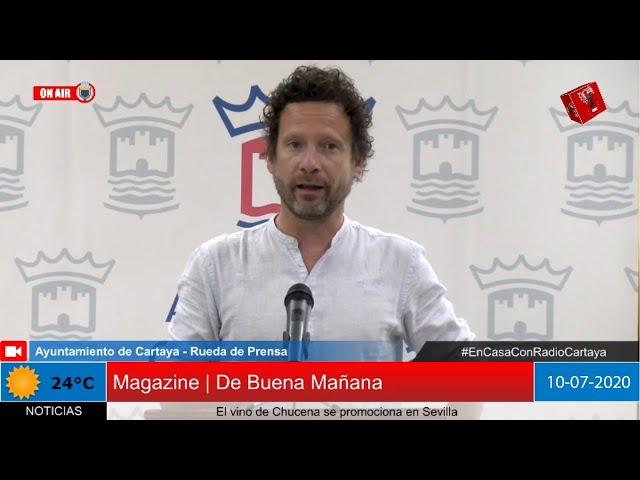Radio Cartaya | David F. Calderón informa de sus responsabilidades en el nuevo Equipo de Gobierno