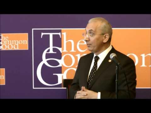 Turkish parliament member Dr. Yusuf Ziya İrbeç speaks to The Common Good