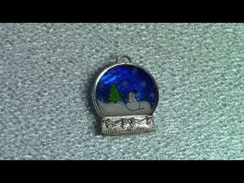 Watch Me Resin 18: Snow Globe Bauble