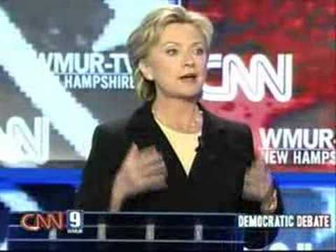 2007 NH Democratic Presidential Debate (Part 3)