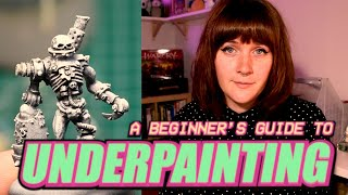 How to Underpaint Miniatures: A Beginner's Guide to Sketch Style