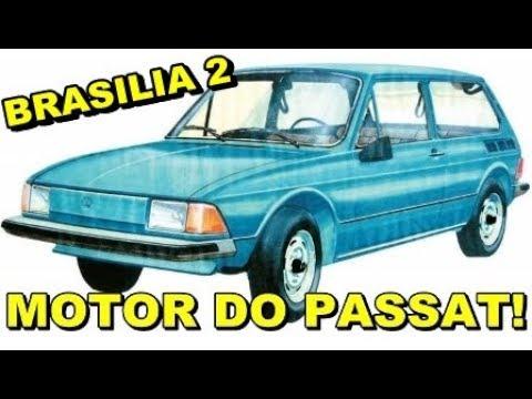 A BRASÍLIA 2 COM MOTOR DIANTEIRO DO PASSAT QUE NUNCA SAIU!