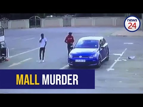 WATCH: Man shot dead in car in Welkom mall parking lot