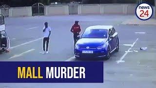 WATCH: Man shot dead in car in Welkom mall parking lot