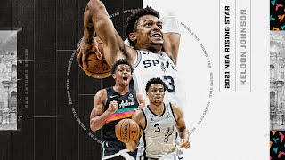 Keldon Johnson Named 2021 NBA Rising Star