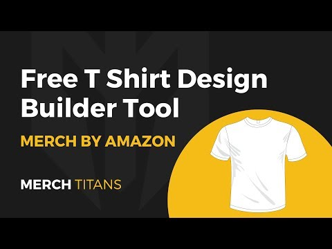 Free T Shirt Design Builder Tool For Merch By Amazon, RedBubble, & Shopify