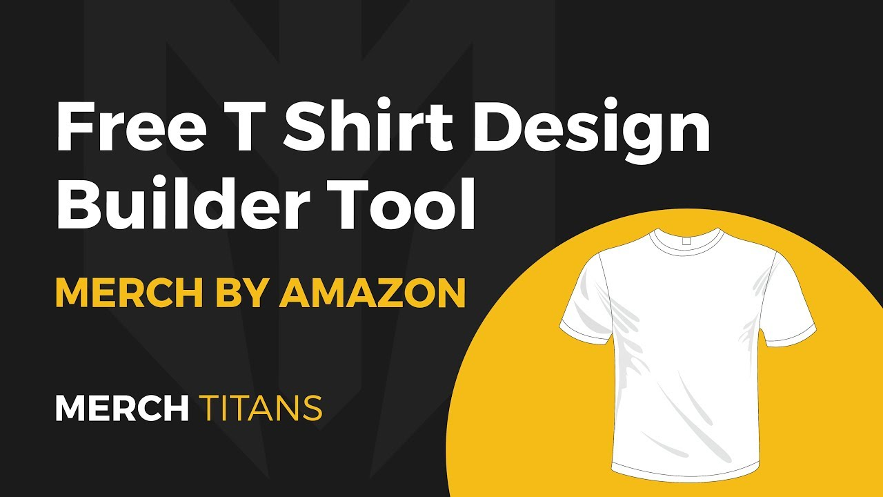 5fd0f20cd Free T Shirt Design Builder Tool for Merch by Amazon, RedBubble, & Shopify