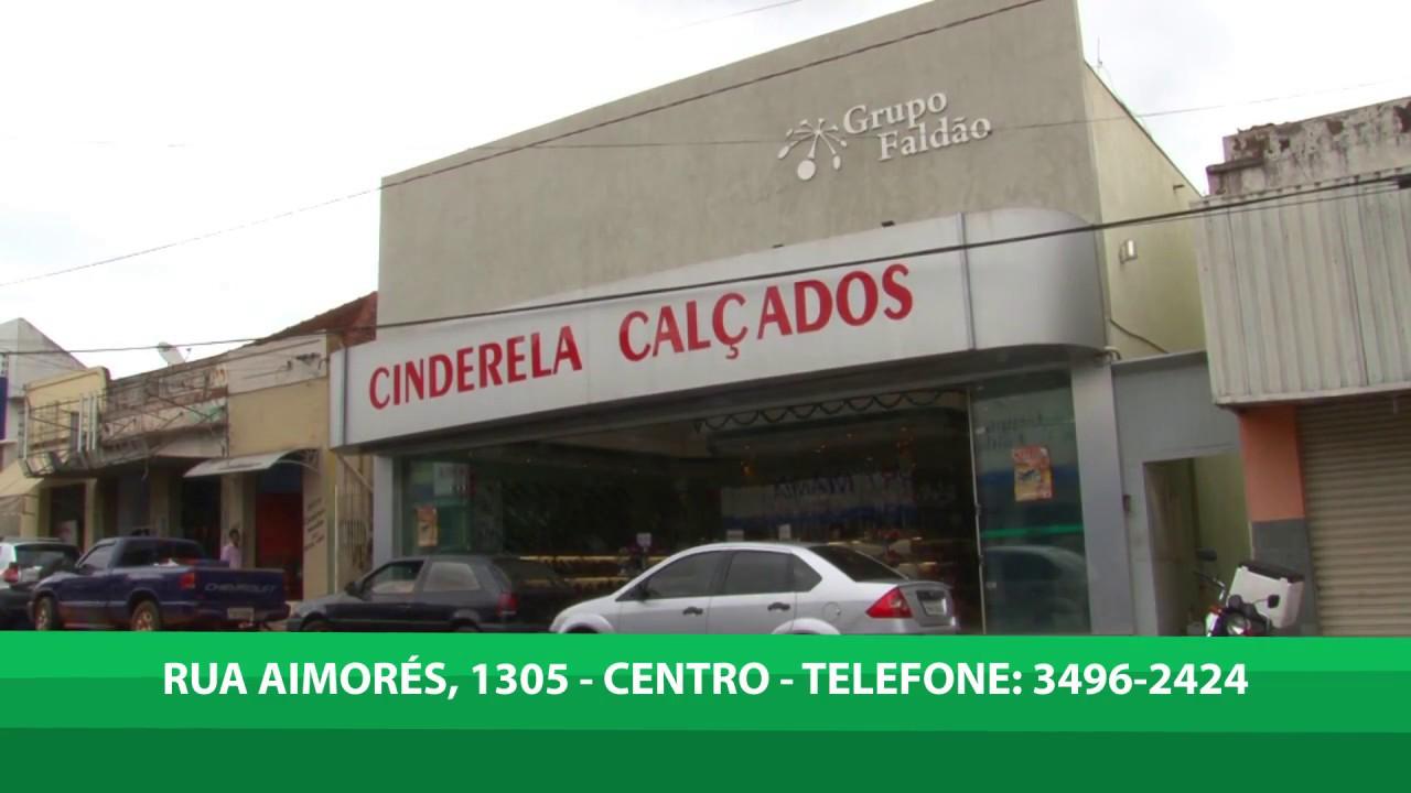 3745d4286 CINDERELLA CALÇADOS DE TUPÃ - YouTube