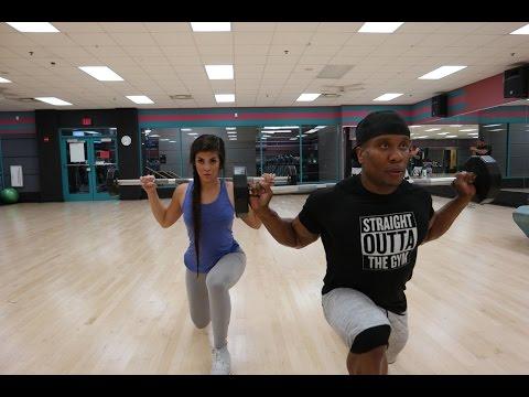 Hamstring Focused Leg Day feat Sandra Perez
