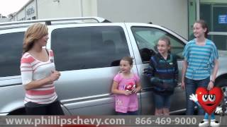 Phillips Chevrolet Customer Review - 2006 Buick Terraza - Used Car Dealer Sales Chicago Dealership