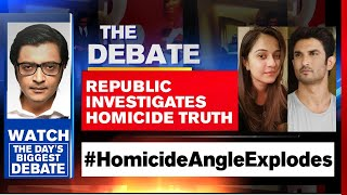 Disha-Sushant Case Links: New Leads And Evidence Emerge | The Debate With Arnab Goswami