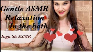 SEXY ASMR relax, Gentle bathing with you, white t-shirt*no bra, short version!