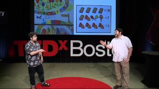Repeat youtube video Tales from the Cardboard Fun Lab:  Kevin Spak and Sam Liberty at TEDxBoston
