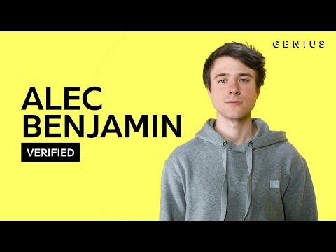 """Alec Benjamin """"If I Killed Someone For You"""" Official Lyrics & Meaning 