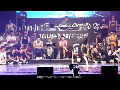 110716 final Maximum crew vs FusionM.C @Jeonju B-boy Grand Prix