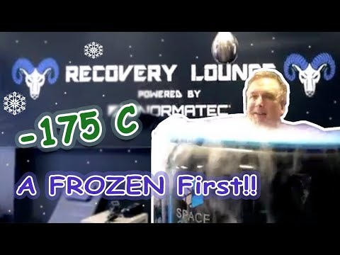 I tried CRYOTHERAPY @ -175C for the FIRST time. Find out what happened next (Lance Nelson ski 2019)